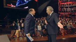 Ascolti record di Berlusconi da Santoro: Servizio pubblico oltre il 33% con 9 milioni di spettatori