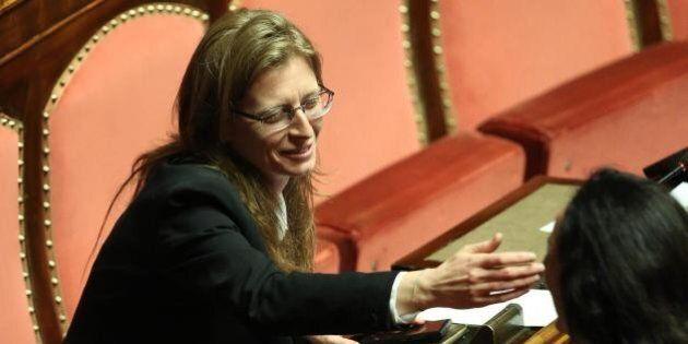 Laura Bottici, questore M5s Senato, in auto blu al Quirinale per gli auguri a Giorgio Napolitano. E