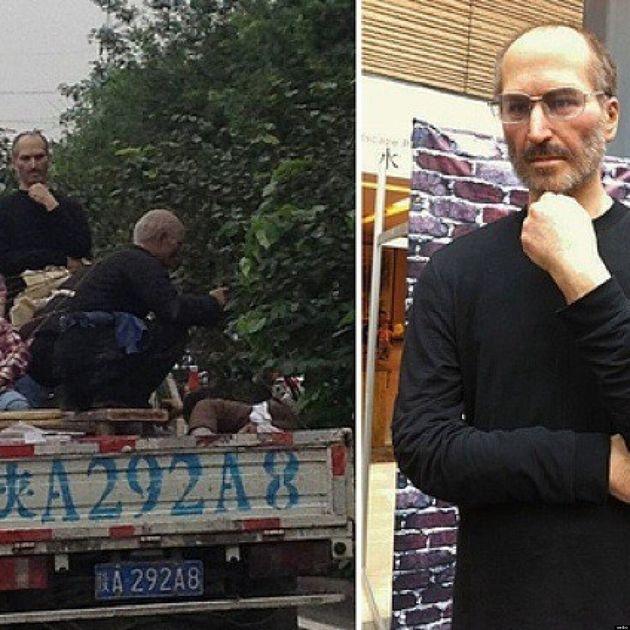 Steve Jobs avvistato in Cina su un furgone. La foto del