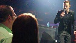 Justin Timberlake come Cupido