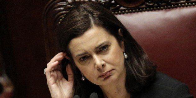Laura Boldrini, intercettata lettera minatoria con proiettile destinata al Presidente della