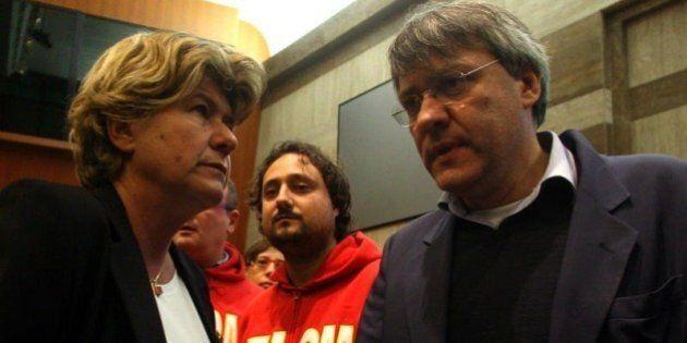 Maurizio Landini contro Susanna Camusso,