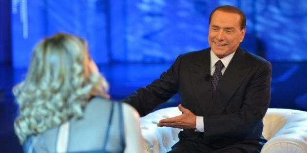 Silvio Berlusconi intervistato a Domenica Live: