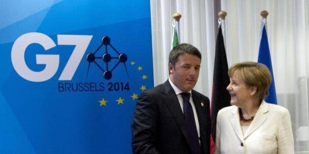 Matteo Renzi al G7.