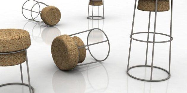 Salone del Mobile, materiali naturali per l'arredo. Legno, marmo e sughero per la sostenibilità ambientale