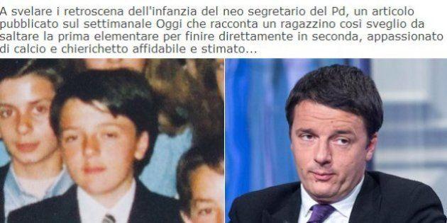 Matteo Renzi da bambino: leader, chierichetto e scout, ma non amava perdere. L'infanzia del segretario...