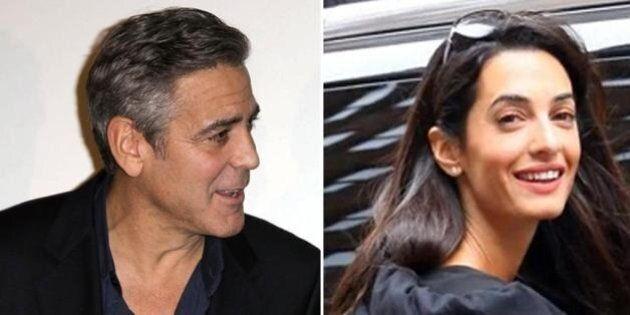 George Clooney fidanzato con Alma Alamuddin: l'attore stregato dall'avvocatessa di Julian Assange