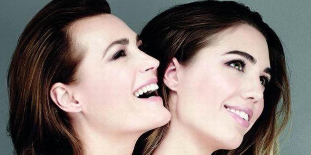 Moda, Yasmine Le Bon e Amber Le Bon: madre e figlia sfilano e posano insieme contro il cancro