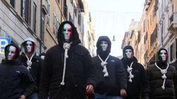 Anonymous oscura i siti della destra radicale