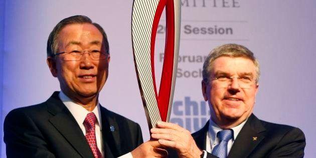 Olimpiadi Sochi, Ban Ki-moon: