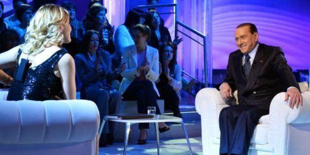 Silvio Berlusconi in tv non