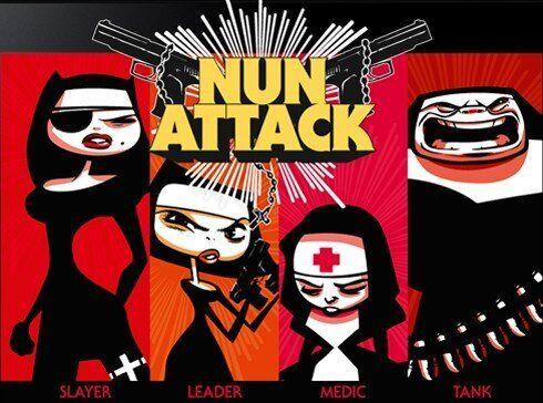 Nun Attack: suore che sparano ai