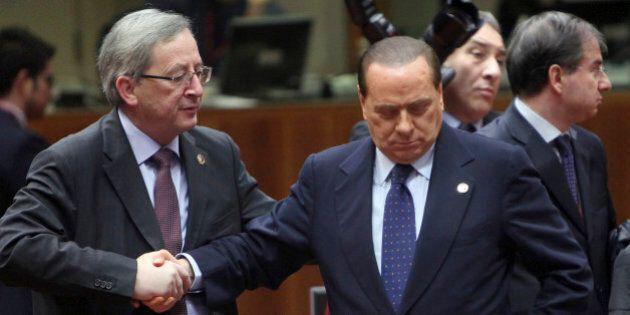 Juncker censura Berlusconi per parare gli attacchi in vista del confronto tv. E nel Ppe cresce