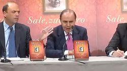 Renzi e Alfano alla presentazione del libro di