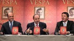 La trattativa sul patto tedesco in diretta da Vespa parte male. Renzi snobba Alfano e ostenta sfiducia