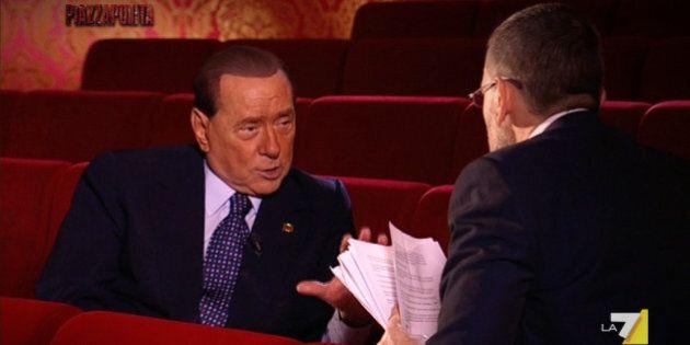 Silvio Berlusconi, è crisi sul piccolo schermo. L'intervista a Piazza Pulita non porta nulla al programma,