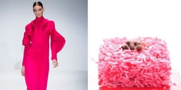 Milano Fashion Week 2013. La moda è nel piatto. Abiti e prelibatezze negli accostamenti di Anna Marconi