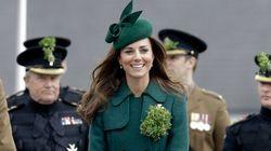 Kate in verde per San Patrizio