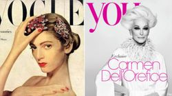 Carmen Dell'Orefice, top model senza