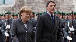 Renzi incontra Merkel a Berlino