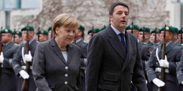 Matteo Renzi Angela Merkel: il vertice a Berlino
