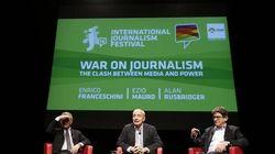 #ijf14: Ezio Mauro, Rusbridger, Greenwald e Snowden. #ijf14: Ezio Mauro, Rusbridger, Greenwald e Snowden. Su che fronte siamo