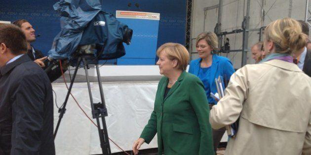 Elezioni Germania 2013: Merkel di ghiaccio ferma anche la pioggia. Il racconto di Anna Paola Concia (FOTO,