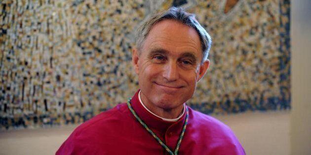 Padre Georg Gaenswein, primo giorno nella diocesi di Urbisaglia.