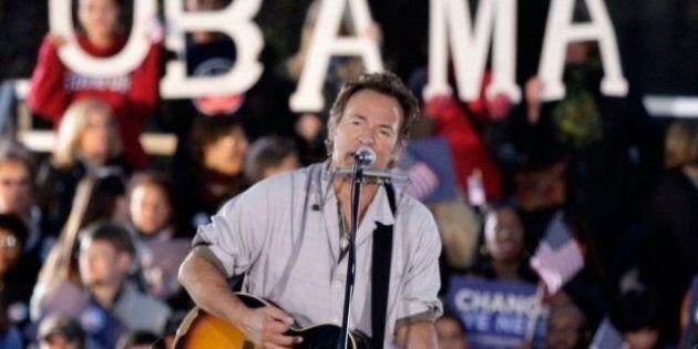 Elezioni americane: Bruce Springsteen torna a cantare per Barack Obama (VIDEO,