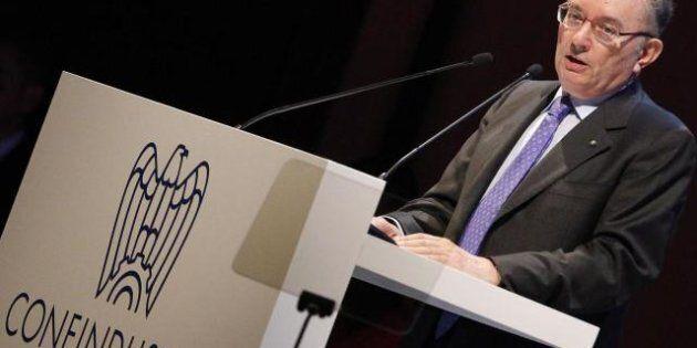 Confindustria, l'allarme di Giorgio Squinzi: