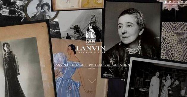 Da Lanvin a Gucci, il web celebra e promuove la storia dei