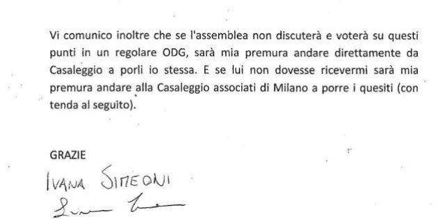 M5s, la senatrice e le 5 domande a Gianroberto Casaleggio:
