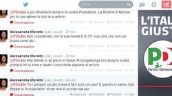 Offese e insulti porno tra Moretti e Taverna