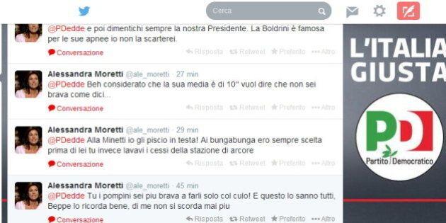 Alessandra Moretti e Paola Taverna, violati account twitter. Insulti porno e offese nella notte tra le...