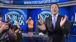 Renzi a Porta a Porta supera Berlusconi del