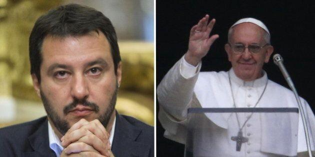 Matteo Salvini Vs Papa Francesco sui rom: