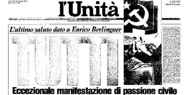 L'Unità compie 90 anni: 10 prime pagine storiche del quotidiano fondato da Antonio Gramsci