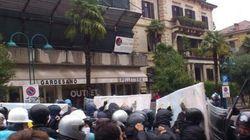 No Monti Day, tensione e scontri a Riva del