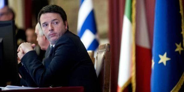 Matteo Renzi alla Camera: