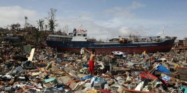 Tifone Filippine, Emma Bonino: