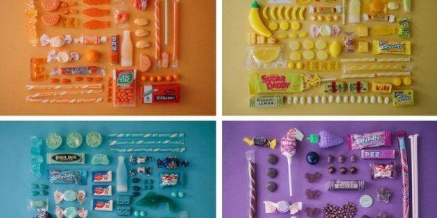 Emily Blincoe, i dolci catalogati per colore