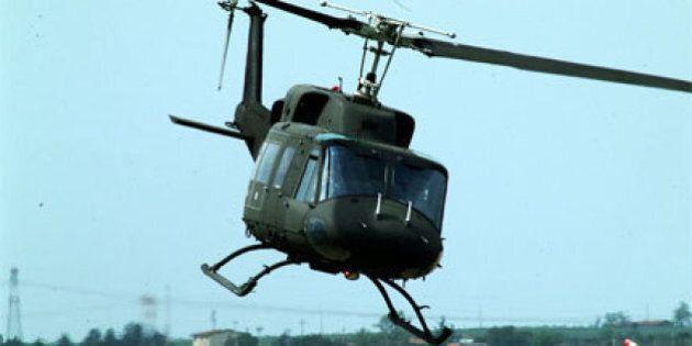 Amianto negli elicotteri, la Difesa ancora non sa il livello di contaminazione dei