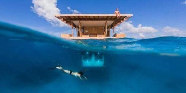 Camera d'albergo sott'acqua. Ecco il Manta Resort, l'hotel negli abissi dell'oceano