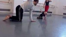 Guarda come balla Ivo, a 14 mesi dà lezioni di