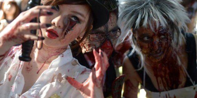 Zombie, notte dei morti viventi. Parate nelle strade di mezzo mondo