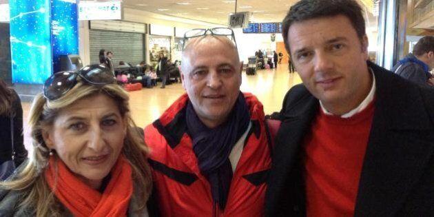 Matteo Renzi a Lampedusa: