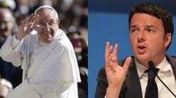 Renzi e Bergoglio, anniversari e destini incrociati di due