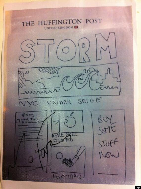 L'uragano Sandy spegne i server dell'Huffington Post, ma l'informazione continua a viaggiare
