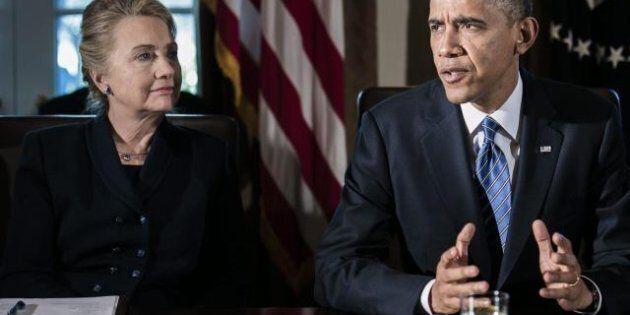 Stati Uniti, Hillary Clinton lascia le porte aperte a una candidatura nel 2016, l'endorsement di Barack...