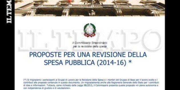 Spending review, ecco il piano Carlo Cottarelli. Esclusiva de il Tempo